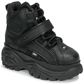 鞋子 女士 高帮鞋 Buffalo 1348 黑色