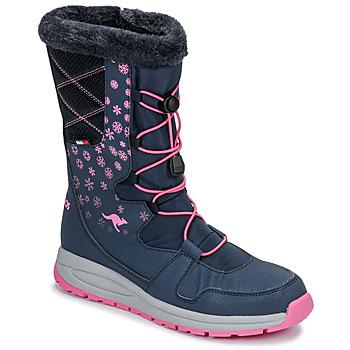 鞋子 女士 雪地靴 Kangaroos K-GLAZE RTX 海蓝色 / 玫瑰色