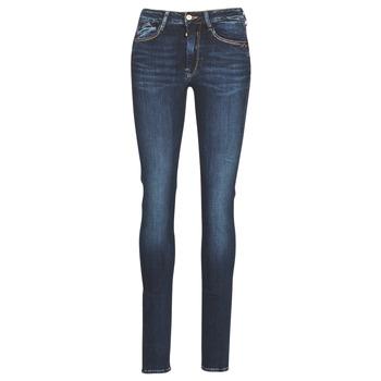 衣服 女士 紧身牛仔裤 Le Temps des Cerises PULP HIGH SLIM 蓝色