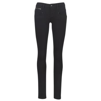 衣服 女士 緊身牛仔褲 Freeman T.Porter ALEXA SLIM S-SDM 黑色