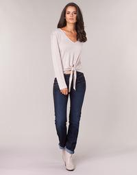 衣服 女士 直筒牛仔褲 Freeman T.Porter CATHYA SDM 藍色 / Brut