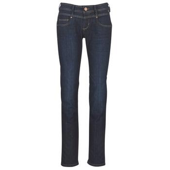 衣服 女士 直筒牛仔裤 Freeman T.Porter CATHYA SDM 蓝色 / Brut
