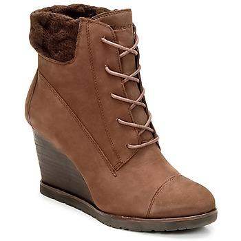鞋子 女士 短靴 Marc O'Polo TIANAT 棕色