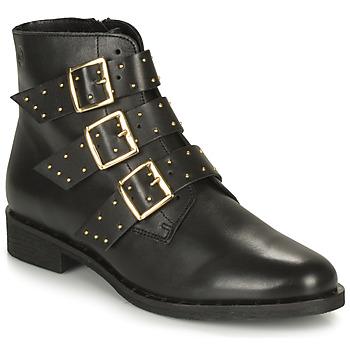 鞋子 女士 短筒靴 Betty London LYS 黑色