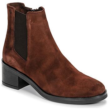 鞋子 女士 短靴 Casual Attitude LIOO 驼色