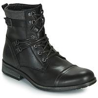 鞋子 男士 短筒靴 Casual Attitude RIVIGH 黑色