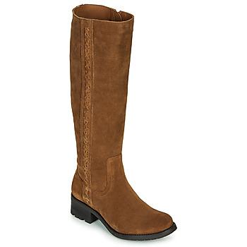 鞋子 女士 都市靴 Casual Attitude LOUNA 灰褐色