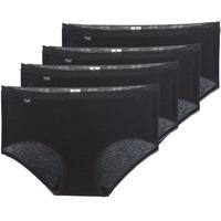 内衣  女士 底裤 Sloggi BASIC+ X 4 黑色
