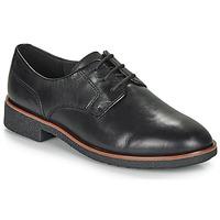 鞋子 女士 德比 Clarks 其樂 GRIFFIN LANE 黑色