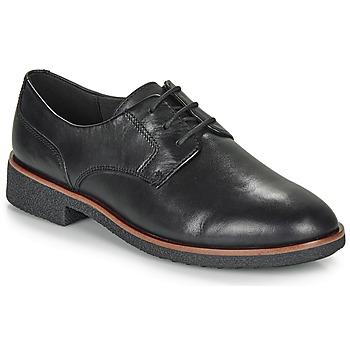 鞋子 女士 德比 Clarks 其乐 GRIFFIN LANE 黑色