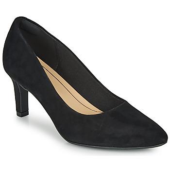 鞋子 女士 高跟鞋 Clarks 其乐 CALLA ROSE 黑色