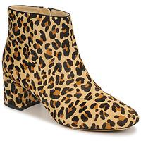 鞋子 女士 短靴 Clarks 其乐 SHEER FLORA Leopard