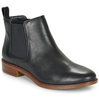 鞋子 女士 短筒靴 Clarks 其乐 TAYLOR SHINE 黑色