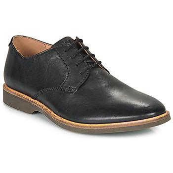 鞋子 男士 德比 Clarks 其乐 ATTICUS LACE 黑色