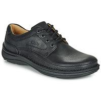 鞋子 男士 德比 Clarks 其乐 NATURE THREE 黑色