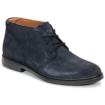 鞋子 男士 短筒靴 Clarks 其乐 UN TAILOR MID 海蓝色