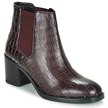 鞋子 女士 短靴 Clarks 其乐 MASCARPONE 波尔多红