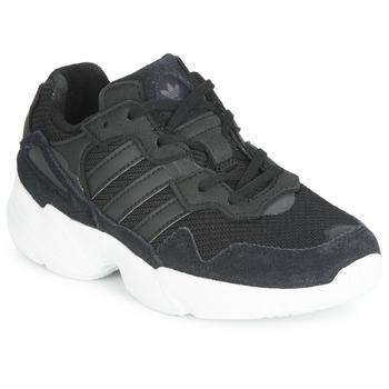 鞋子 儿童 球鞋基本款 Adidas Originals 阿迪达斯三叶草 YUNG-96 C 黑色