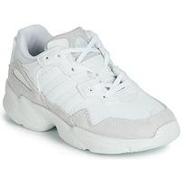 鞋子 儿童 球鞋基本款 Adidas Originals 阿迪达斯三叶草 YUNG-96 C 白色