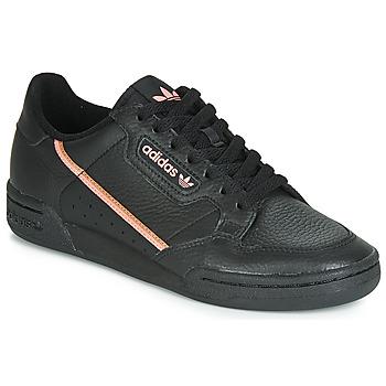 鞋子 女士 球鞋基本款 Adidas Originals 阿迪达斯三叶草 CONTINENTAL 80 W 黑色