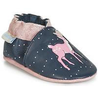 鞋子 女孩 兒童拖鞋 Robeez LITTLE FAWN 海藍色 / 玫瑰色