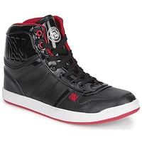 鞋子 女士 高帮鞋 Dorotennis BASKET CUIR NAPPA PU VERN 黑色