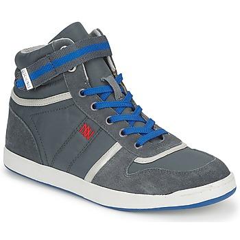 鞋子 女士 高幫鞋 Dorotennis BASKET NYLON ATTACHE 灰色