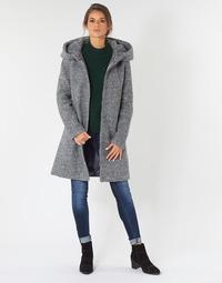 衣服 女士 大衣 Vila VICANIA 灰色