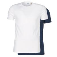 衣服 男士 短袖体恤 Levi's 李维斯 SLIM 2PK CREWNECK 1 海蓝色 / 白色