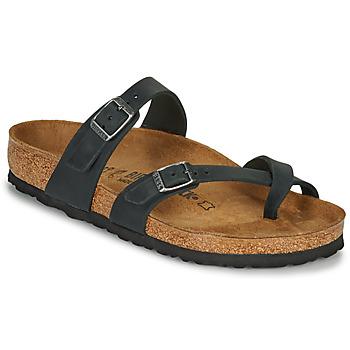 鞋子 女士 休闲凉拖/沙滩鞋 Birkenstock 勃肯 MAYARI 黑色
