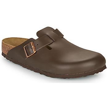 鞋子 男士 洞洞鞋/圆头拖鞋 Birkenstock 勃肯 BOSTON SFB 棕色
