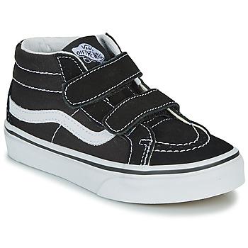 鞋子 儿童 高帮鞋 Vans 范斯 UY SK8-MID REISSUE V 黑色 / 白色