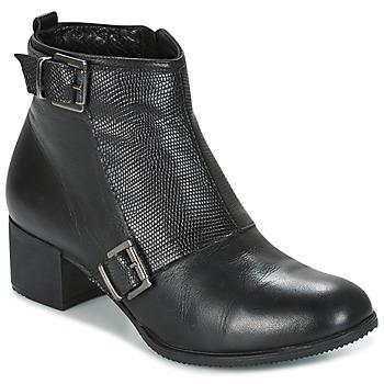 鞋子 女士 短靴 Andrea Conti CASTEL 黑色