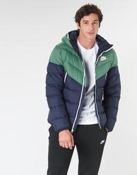 衣服 男士 羽绒服 Nike 耐克 M NSW DWN FILL WR JKT HD 海蓝色 / 绿色