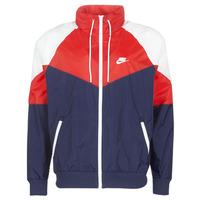 衣服 男士 冲锋衣 Nike 耐克 M NSW HE WR JKT HD + 海蓝色