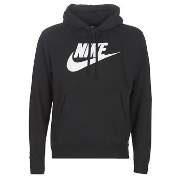 衣服 男士 卫衣 Nike 耐克 M NSW CLUB HOODIE PO BB GX 黑色