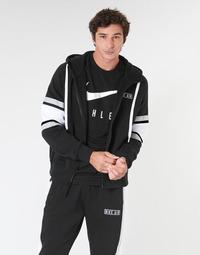 衣服 男士 卫衣 Nike 耐克 M NSW NIKE AIR HOODIE FZ FLC 黑色