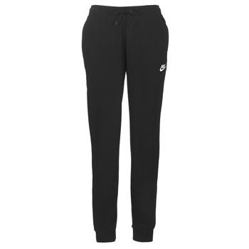 衣服 女士 厚裤子 Nike 耐克 W NSW ESSNTL PANT REG FLC 黑色