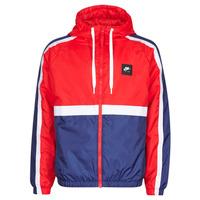 衣服 男士 运动款外套 Nike 耐克 M NSW NIKE AIR JKT SSNL WVN 红色 / 海蓝色