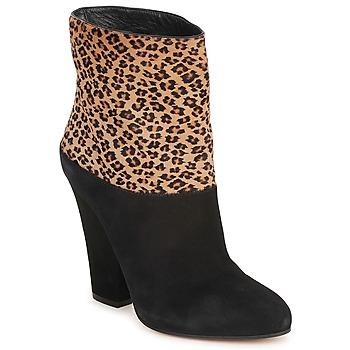 鞋子 女士 短靴 塞巴斯汀 CAVALLINO 黑色