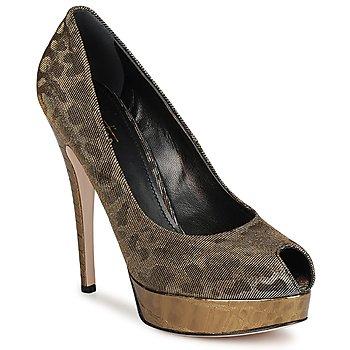 鞋子 女士 高跟鞋 Sebastian Milano TESS 灰色 / 金色