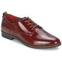 鞋子 女士 德比 Bugatti VICTORIA 波尔多红
