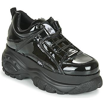 鞋子 女士 球鞋基本款 Buffalo 1533043 黑色 / 漆皮