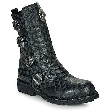 鞋子 短筒靴 New Rock  黑色