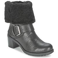 鞋子 女士 短筒靴 Clarks 其乐 PILICO PLACE 黑色