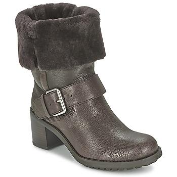 鞋子 女士 短筒靴 Clarks 其乐 PILICO PLACE 棕色