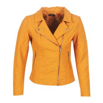 衣服 女士 皮夹克/ 人造皮革夹克 Only ONLMEGAN 黄色