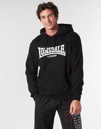 衣服 男士 卫衣 Lonsdale WOLTERTON 黑色