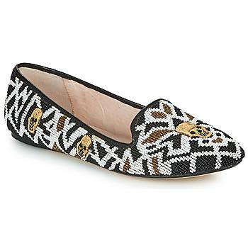 鞋子 女士 皮便鞋 House of Harlow 1960 哈露时装屋 ZENITH 黑色 / 白色 / 金色