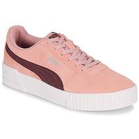 鞋子 女士 球鞋基本款 Puma 彪马 COURT CALI RS 玫瑰色